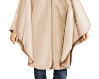 5732 Personalized Poncho Sewing Pattern - Women Poncho, Ladies Clothes, PDF pattern