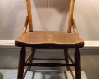 Vintage, Antique, Heywood Wakefield, Wood, Children's, Chair, Furniture, School House, Chair 1