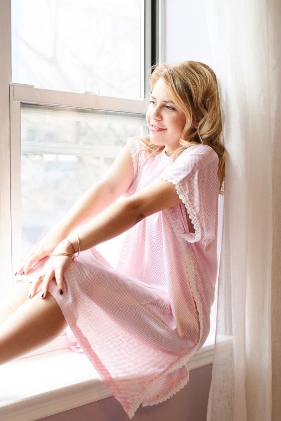 Loungewear, silk lingerie, night gown, pajama dress, sleepwear