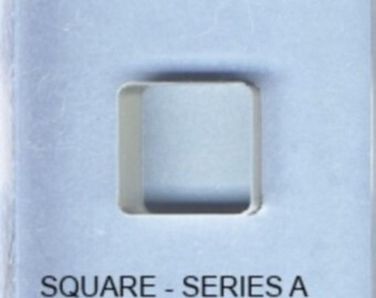 BulletProof Silhouette Press Dies Individual Square Shape A