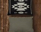 Modern Navajo - (black / black stripe)