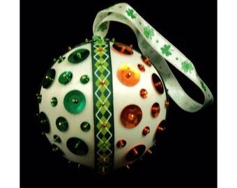 St. Patrick's Day Ornament - Erin Go Bragh