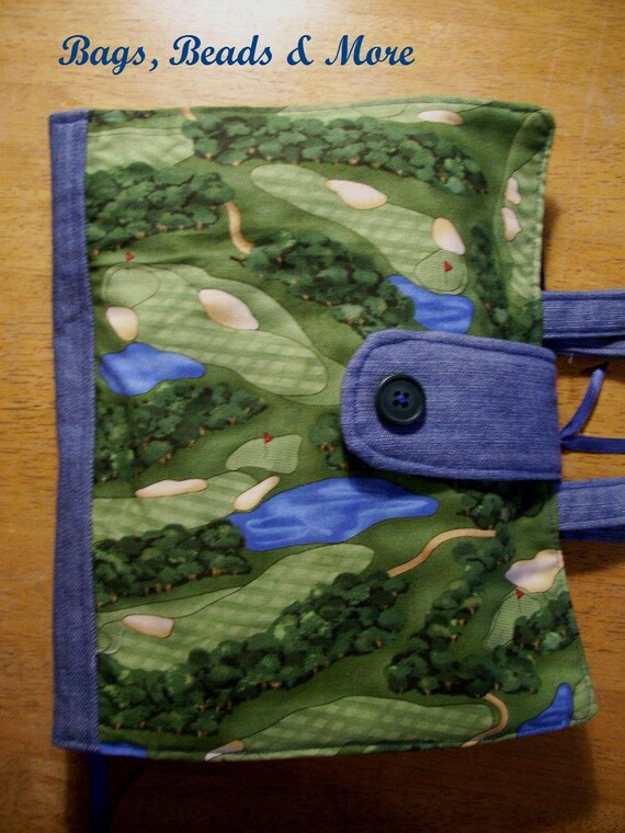 Golf Bible Cover, Bible Carrier with Handles