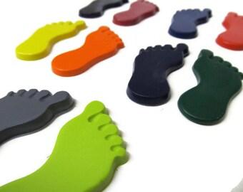 Feet Crayons Set of 20  - Party Favor - Foot Crayons