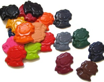 Lion crayons set of 50 - party favors