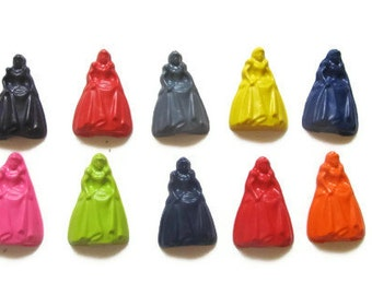 Princess Crayons set of 10 - party favors