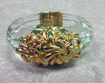 INNA CYTRINE PARIS Lucite Ornately decorated bracelet