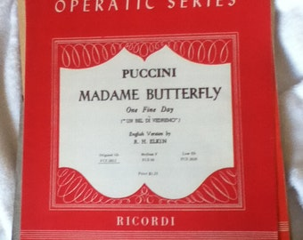 Puccini's Madame Butterfly