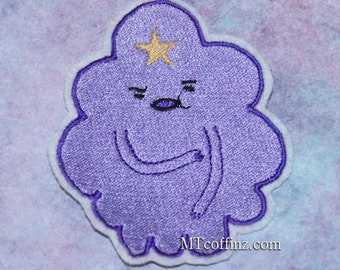 Lumpy Space Princess Adventure Time Iron On Embroidery Patch MTCoffinz