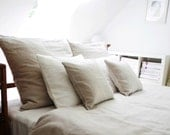 Linen bedding - King size duvet cover