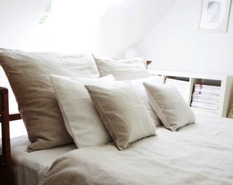 Linen Bedding , Duvet cover , natural linen duvet cover, Single, Twin, Full, Queen, King size.