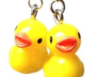 Rubber Ducky Earrings