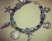 One of a Kind Ocean Charm Bracelet