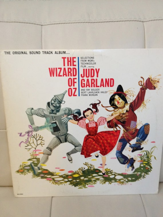 The Wizard Of Oz Starring Judy Garland Vinyl Record
