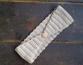 Crochet ear warmer womens headband fashion hair band
