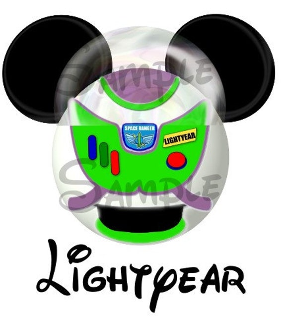 Buzz Lightyear From Toy Story Inspired Mickey By