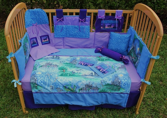 Fairy Tale 12 Piece Baby Bedding Crib Set By Treasurecoastbaby
