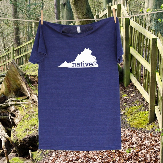 Va Native Plant Society: Virginia Home State NATIVE T Shirt More Shirt And By