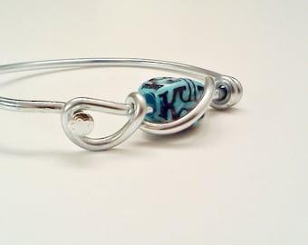 Bicycle Spoke Bracelet Turquoise - Custom Size