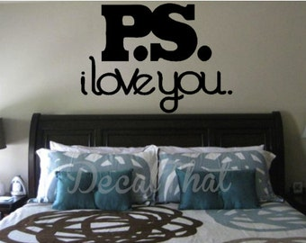 P.S. I love you Decal