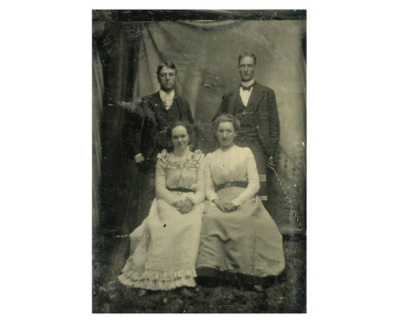 Dating old photographs by clothing