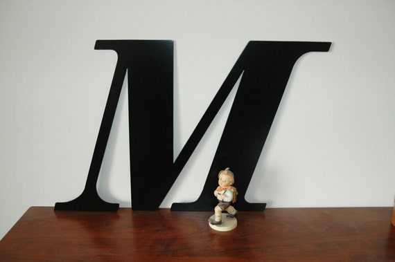 items similar to 21 inch extra large steel letters and numbers indoor outdoor custom metal art. Black Bedroom Furniture Sets. Home Design Ideas
