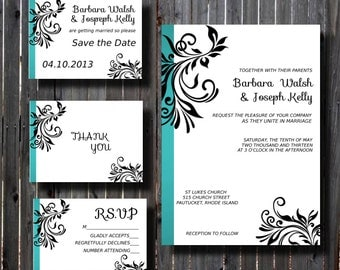 49 Best Turquoise Wedding Images On Printable
