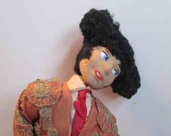 Vintage Spanish Matador Doll