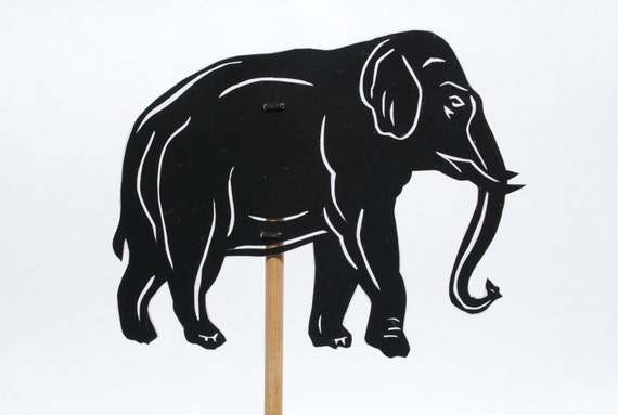Elephant Hand Shadow Puppet Elephant Shadow Puppet Hand