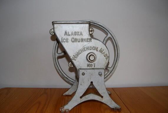 Antique Alaska Ice Crusher