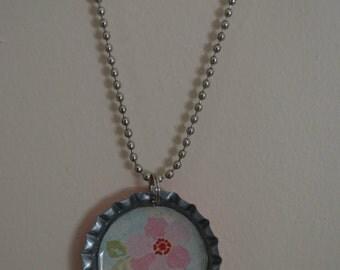 Ready to Ship--Bottlecap Necklace