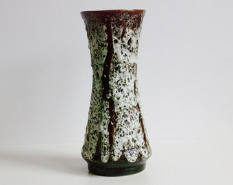 Vintage Thick Fat lava Jopeko keramik ceramic vase West Germany WGP