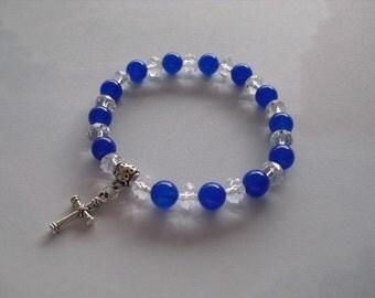 Blue saphire bracelet
