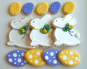 Easter Bunny Cookie Set