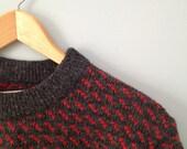 Vintage Women's Medium L.L. Bean Norwegian Sweater