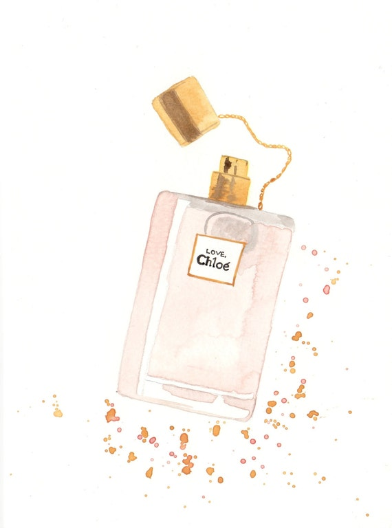 Chlo 233 Love Eau Florale Parfum Fragrance Watercolor Perfume