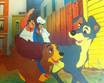 Lady and the tramp  book 1987