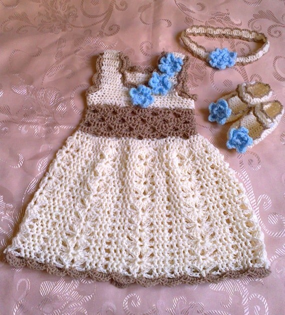 Knitting Patterns Baby Frocks : crochet baby dress baby girl dress crochet girl dress