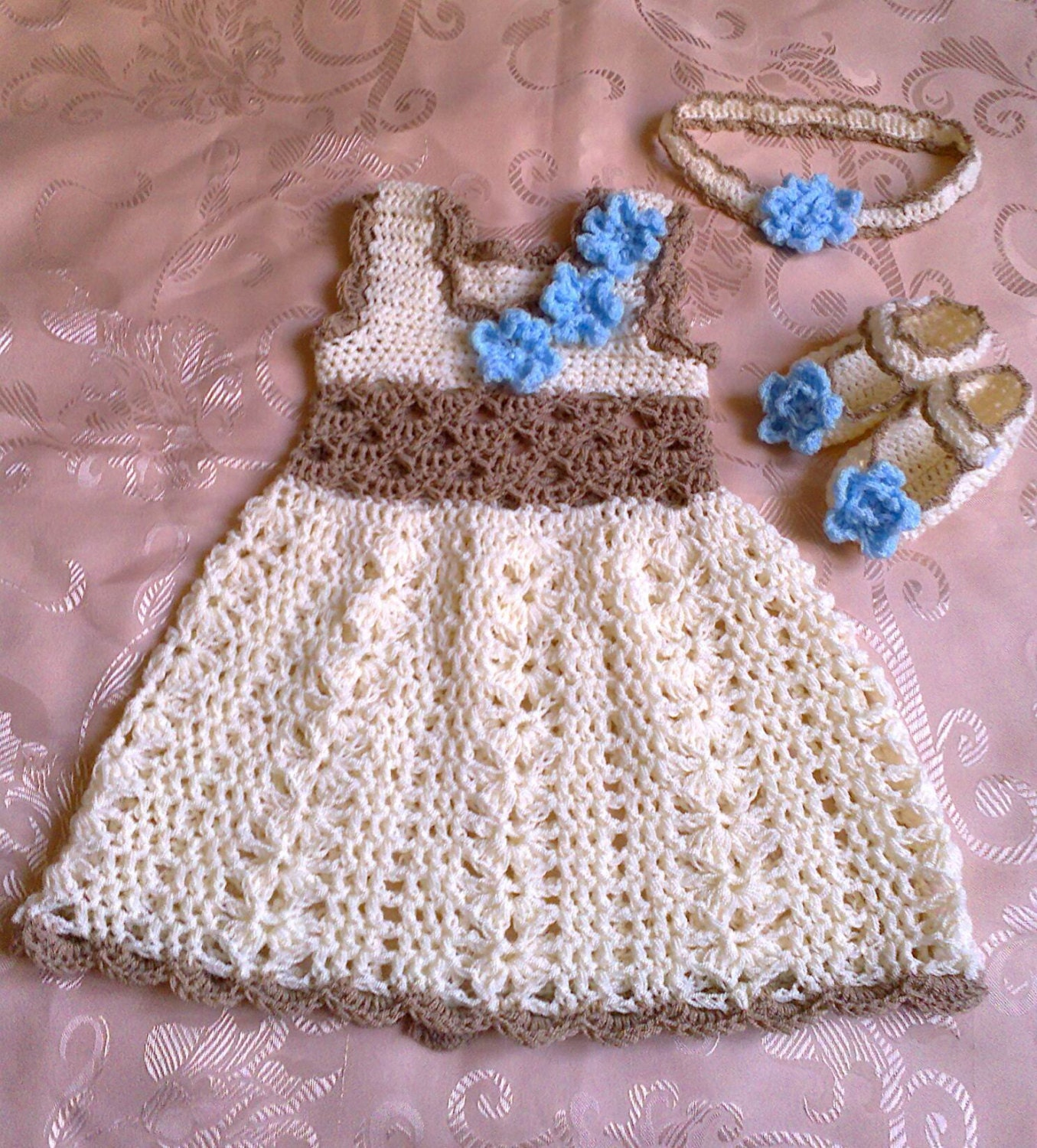 Baby Dress Headband And