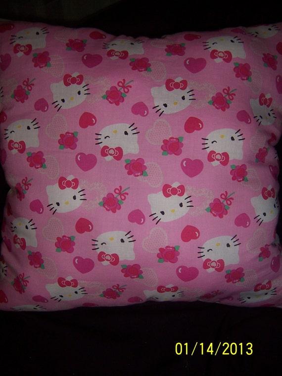 Hand-made Hello Kitty throw pillow