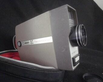 Technicolor Automatic 8 Movie Camera