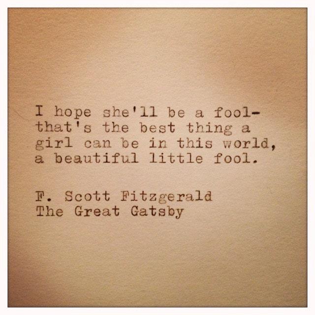great gatsby beautiful little fool essay