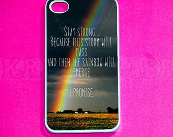 iPhone 6/6s Plus Case,iPhone 6/6s Case, iphone 4 Case, iPhone 4s case, Rainbow Quote iPhone 4 Case, Iphone 4s Cover,Case For iPhone SE