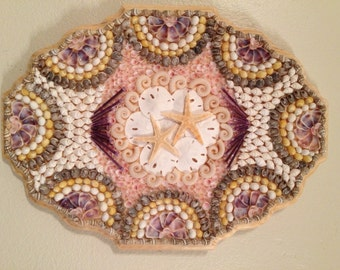 Sailors Valentine Style Wall Hanging