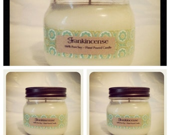 3 - 100% PURE SOY CANDLES - Pure Natural / Eco-Friendly Soy Candles (8 oz) Mother's Day Gifts