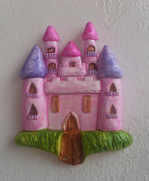 Little Princess Castle - Ceramic - Wall Decor