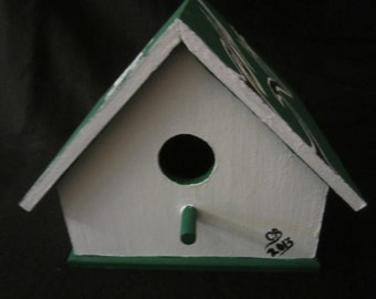 Philadelphia Eagles Birdhouse with Shazaam