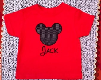 Mickey Mouse Ears Shirt
