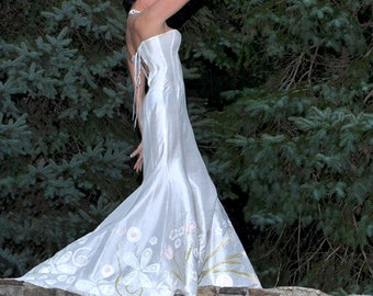 Custom Handmade Wedding gown