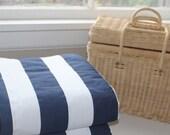 SALE!! Waterproof Picnic Blanket-Nautical Stripe